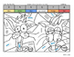 Kindergarten April Coloring Book By Quantity