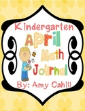 Kindergarten April Math Book - Common Core