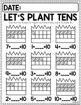 Math Journal April (Kindergarten)
