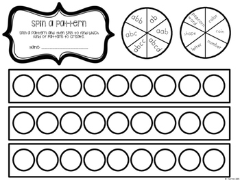 Kindergarten April Math Packet- Stations, Activities, Mini Lessons & Games