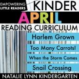 Kindergarten April Read Aloud Lessons & Activities | Empowering Little Readers
