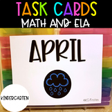 Kindergarten April Task Cards