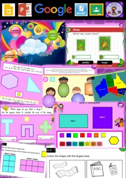 Kindergarten Area Smart Notebook and Unit of Work Bundle 2