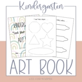 Kindergarten Art Book