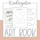 Kindergarten Art Book