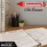 Kindergarten Art Curriculum. Art Lesson Plans, Projects, Rubrics and Worksheets.