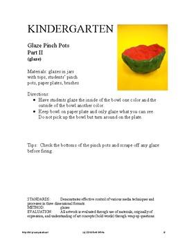 Kindergarten Art Curriculum - Full Year