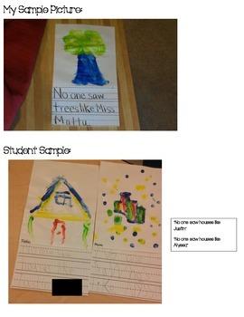 Kindergarten Art (No One Saw..) FREEBIE