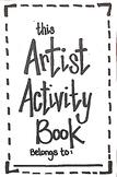 Kindergarten Artist Activity Book
