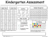 Kindergarten Assesment