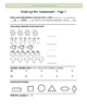Kindergarten Assessment 1 by GBK - NEW!