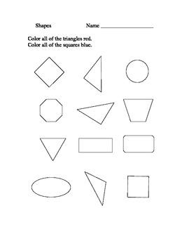 Kindergarten Assessment/ Activity Task cards~ RTI Activities