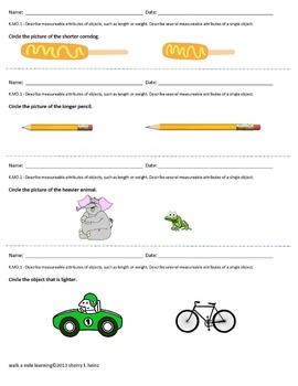 Kindergarten Assessment Book of ALL Math Common Core Standards