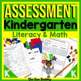 Kindergarten Assessment Beginning of Year  Common Core and TEKS