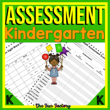 Kindergarten Assessment Common Core and TEKS (for our Texans)