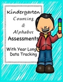 Kindergarten Assessment: Counting, Number ID, Letter ID an