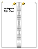 Kindergarten Assessment Data Forms! Sight Words..Numbers & More