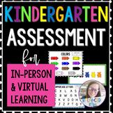 Kindergarten Assessment - Digital Version - Google Slides