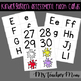 Kindergarten Assessment Flashcards