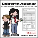Kindergarten Assessment - Freebie