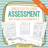 Kindergarten Assessment: Letters A-G & Numbers 0-5