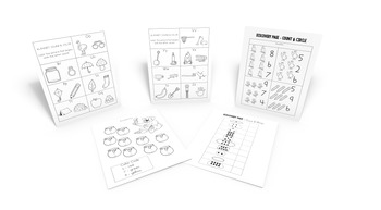 Kindergarten Assessment: Letters O-Z & Basic Addition & Subtraction