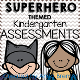 Kindergarten Assessment Pack {Superhero themed}