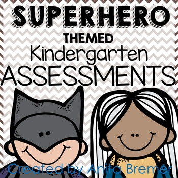 Kindergarten Assessment Pack {Superhero themed}