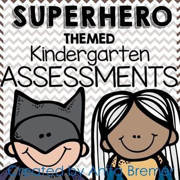 Kindergarten Assessment Pack {Super Hero themed}