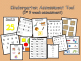 Kindergarten Assessment Tool (1st 9 weeks of school)