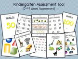 Kindergarten Assessment Tool (2nd 9 weeks of school)