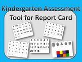 Kindergarten Assessment Tool Report Card FULL PAGE