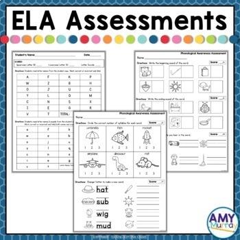 Kindergarten Assessment Tools