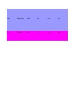 Kindergarten Assessment of Basic Skills- Class Record