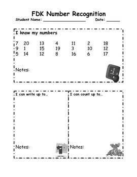 Kindergarten Assessment package math and language + games