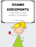 Kindergarten Assessment {Beginning of the Year}