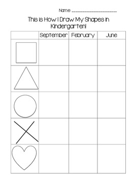 Kindergarten Assessments