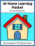 FREE Kindergarten At-Home Learning Packet