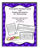 Reading Intervention Pack for Struggling Readers- K-6