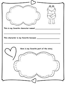 Kindergarten Author Study - Packet!