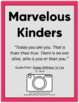 End Of Year: Kindergarten Autobiography