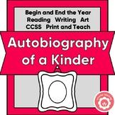 Kindergarten Autobiography: Beginning And End Of Year