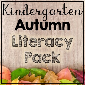 Kindergarten Autumn Literacy Worksheets