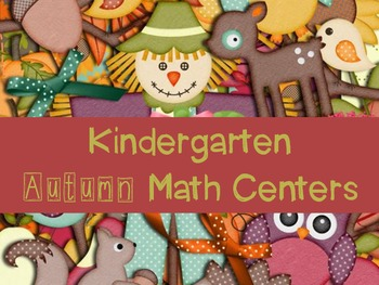 Kindergarten Autumn Math Activities