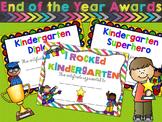 Kindergarten Awards and Certificates - Kindergarten Completion