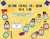 Kindergarten Back To School Question Land Board Game Fall