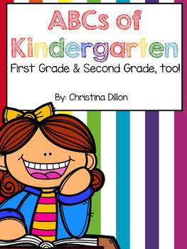 Kindergarten Back to School