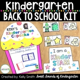 Kindergarten Back to School Activities and Crafts