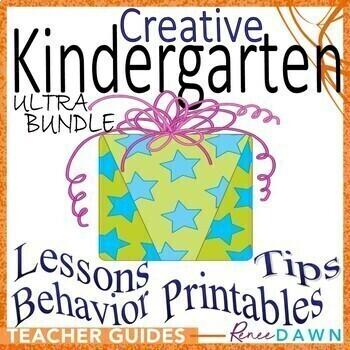 Kindergarten Back to School – Kindergarten Creative ULTRA-BUNDLE