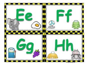 Kindergarten Back to School Literacy Centers/Activities